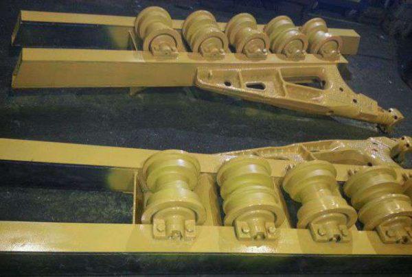 Рама тележки болотоходная (под рессору) 48-21-111 (20-21-127)
