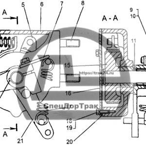 Акселератор Т-170 50-74-130